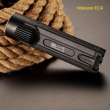 Lampe torche Nitecore EC4 CREE XM-L2 U2 - 1000LM