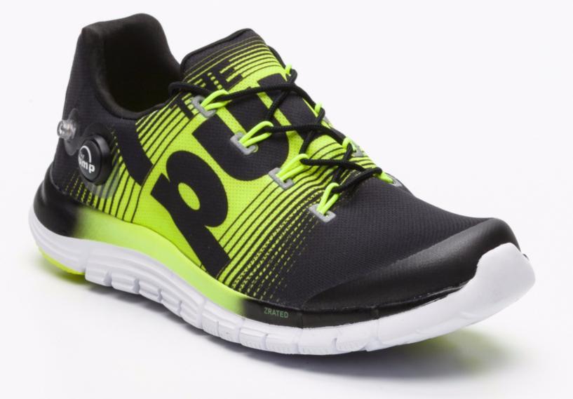 Sélection de produits Reebok - Ex : Chaussures de running Reebok ZPump Fusion noir et jaune