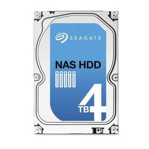 """Disque dur 3.5"""" Seagate NAS HDD ST4000VN000  - 5900trs/mn /  64 Mo cache / 4 To"""