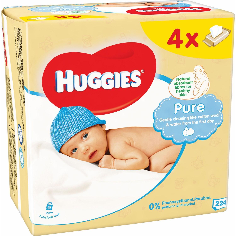 Sélection de produits en promo - Ex : Lot de 8 paquets de lingettes Pure Huggies