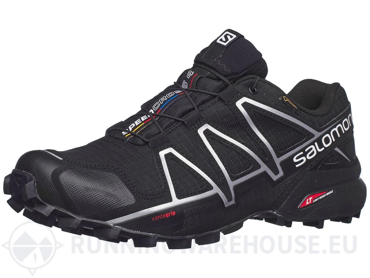 Chaussures Salomon Speedcross 4 pour Homme - Noir / Noir Mettalic