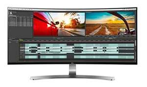 "Ecran PC 34"" (3440 x 1440p)  LG 34UC98 LED IPS incurvé - 5ms Freesynq"