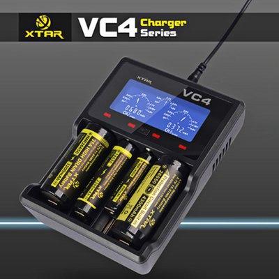 Chargeur Li-ion & Ni-Mh Xtar VC4