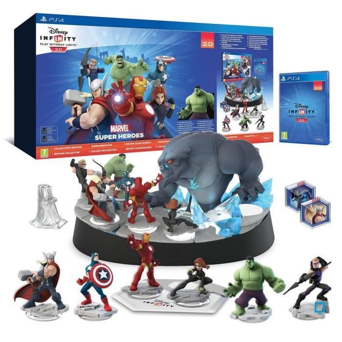 Pack Disney Infinity 2.0 : Marvel Super Heroes PS4