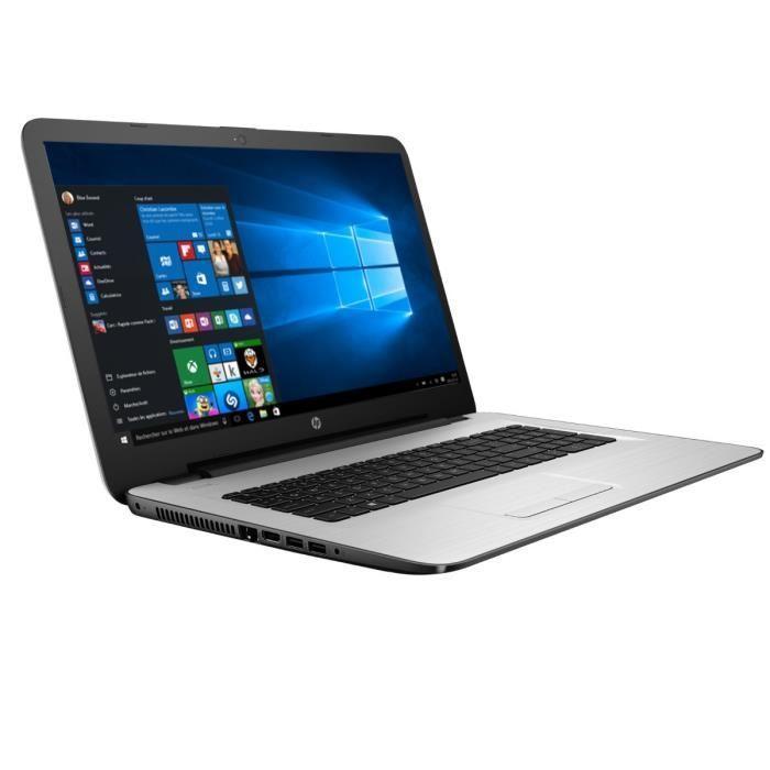 "PC Portable 17,3"" HD+ - HP  17-x035nf  (N3060, 4 Go Ram, 500 Go HDD, Windows 10)"
