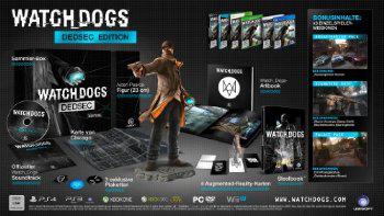 Pré-commande : Watch Dogs - Dedsec Edition sur PS4