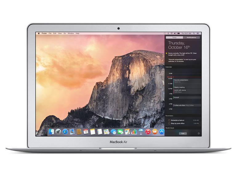 """PC Portable 13.3"""" Apple MacBook Air - I5 1.6GhZ, 8Go Ram, 128Go SSD"""