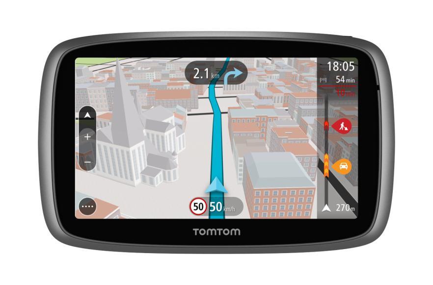 """Navigateur GPS 5"""" TomTom Go 5100 - Cartes Monde à vie + Trafic"""