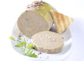 Bloc de foie gras de canard (Frais de port : 7.2€)