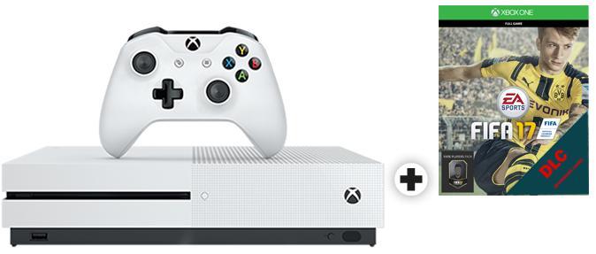Pack console Microsoft Xbox One S (500 Go) + FIFA 17