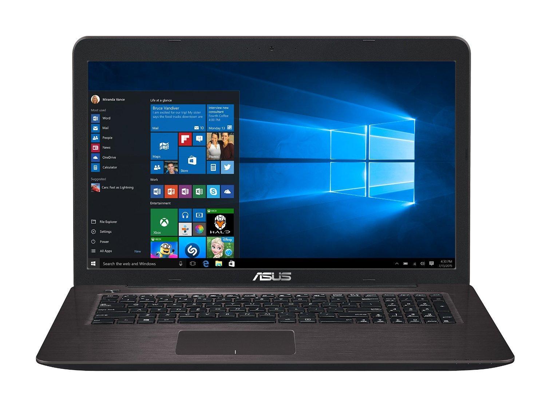 "PC portable 17.3"" Asus K756UX-TY084T (i5-6200U, GTX 950M, 4 Go de RAM, 1 To)"