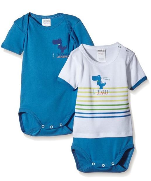 Lot de 2 Body pour bébé Absorba À Croquer (12 mois)