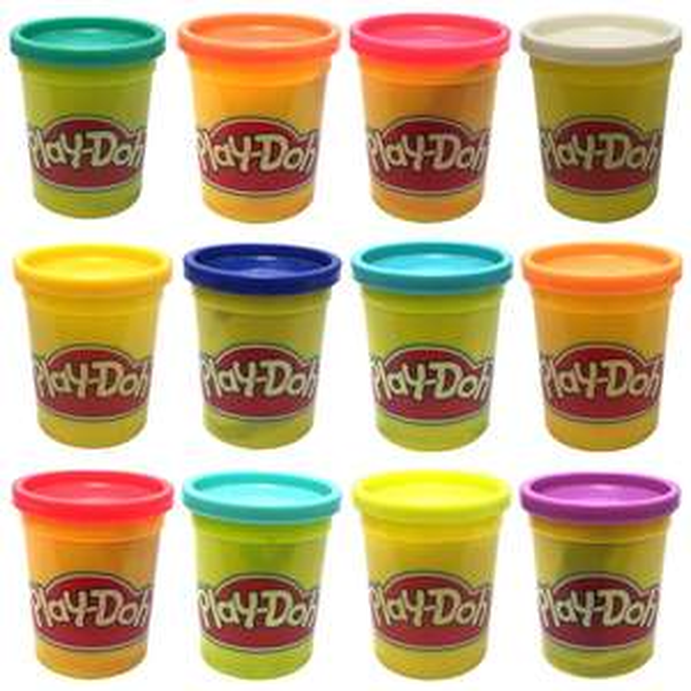Lot de 12 Pots de Pâte à Modeler Play-Doh - 12x112g