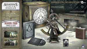 Assassin's Creed Syndicate Charing Cross Edition sur PC à 25€ et sur PS4 à 30€ ou Edition Big Ben Collector sur PS4