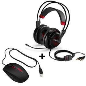 Pack Gaming HP Omen Souris x9000 + Casque audio (by Steelseries)