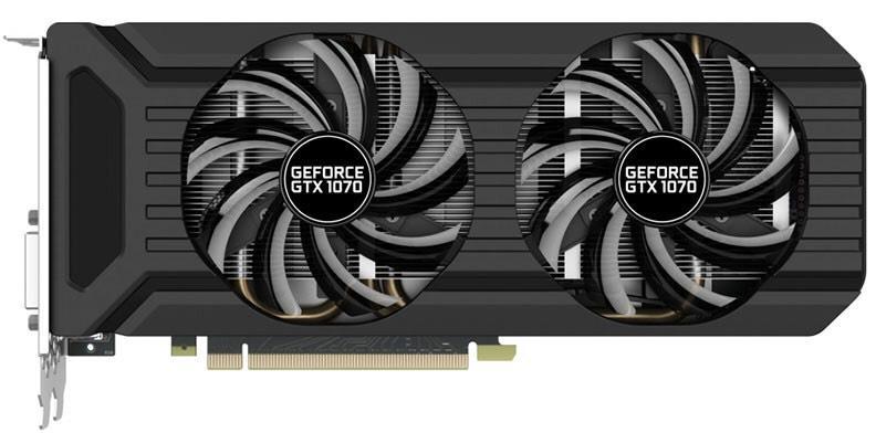 Carte Graphique Nvidia GeForce Palit GTX 1070 Dual 8GB + Gears of war 4 offert