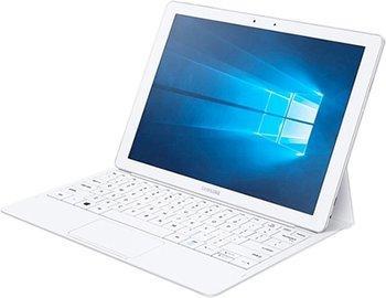 """PC hybride 12"""" Samsung Galaxy TabPro S - m3-6Y30, 4 Go de RAM, 128 Go en SSD, Wi-Fi, blanc (via ODR de 100€)"""