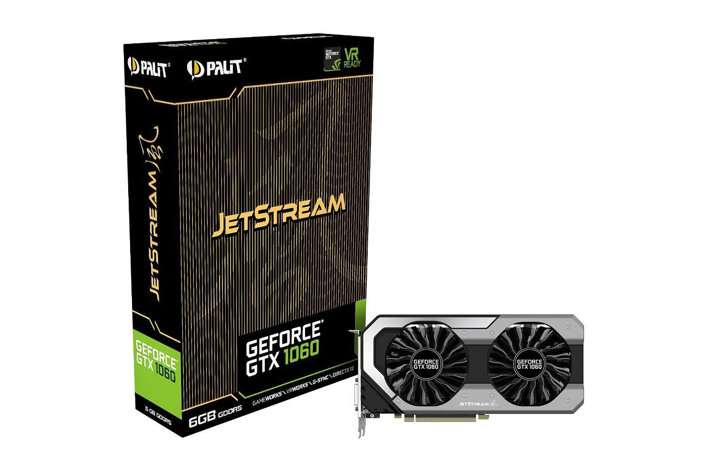 Carte graphique Nvidia GeForce Palit GTX 1060 Jetstream 6GO