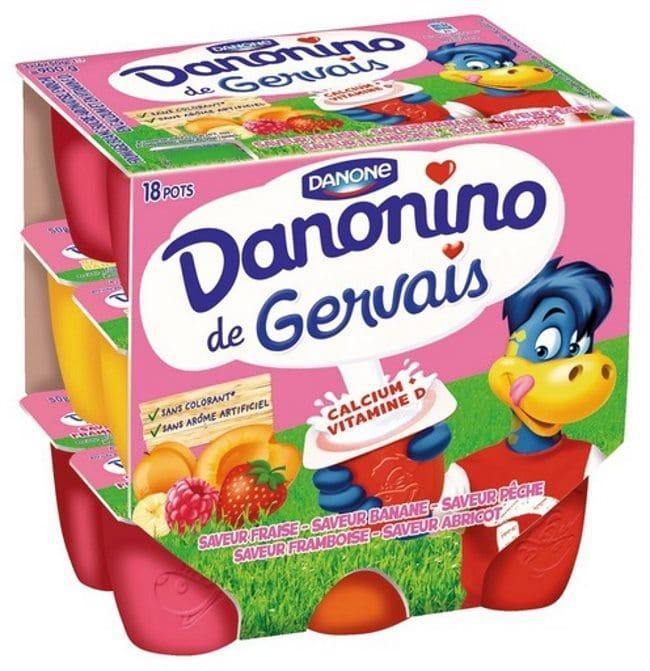 Pack de 18 yaourts Danonino Gervais gratuit (via BDR et 0.99€ sur la carte)