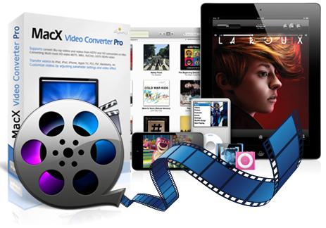 Logiciel pour MAC - MacX Video Converter Pro V4.0.0 avec mise à jour majeure