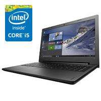 "PC Portable 15.6"" Lenovo Notebook Ideapad 100-15IBD - 1366x768, i5-5200U 2.2 GHz, RAM 8Go, 1To, Windows 10"