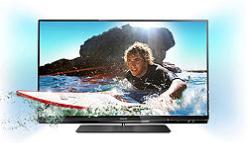 """TV 42"""" Philips 42PFL6007H Ambilight, LED 1080p, 400 Hz, 3D (4 paires incluses), Smart TV"""
