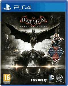 Batman Arkham Knight (DLC Harley Quinn inclus) sur PS4