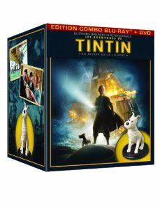 Les Aventures de Tintin Le Secret de la Licorne - Coffret Blu-ray Collector avec figurine