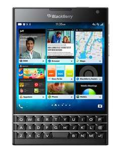 "Smartphone 4,5"" BlackBerry Passport - 32 Go, Azerty"