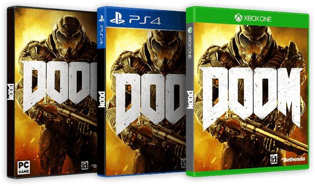 Doom + Balle antistress offerte sur PS4, Xbox One et PC