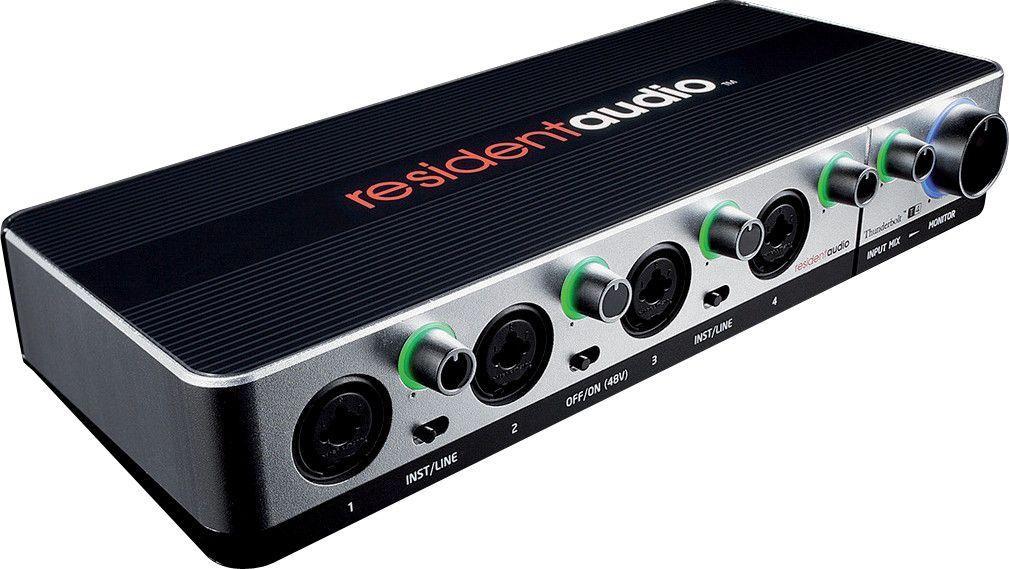 Interface audio Resident Audio T4 4X4 Thunderbolt