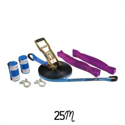 Kit Complet Slackline Wing Blue - 25m