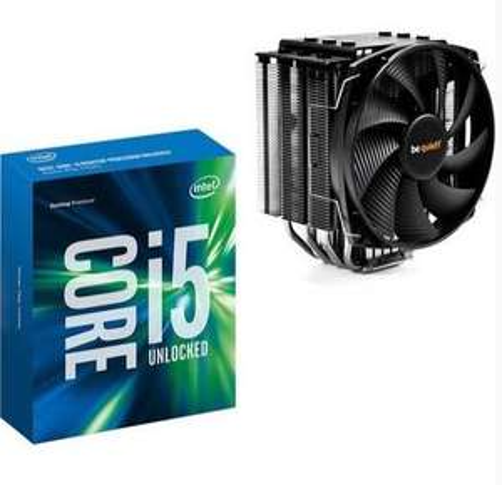 Processeur Intel Core i5-6600K + Ventirad Be Quiet ! Dark Rock 3