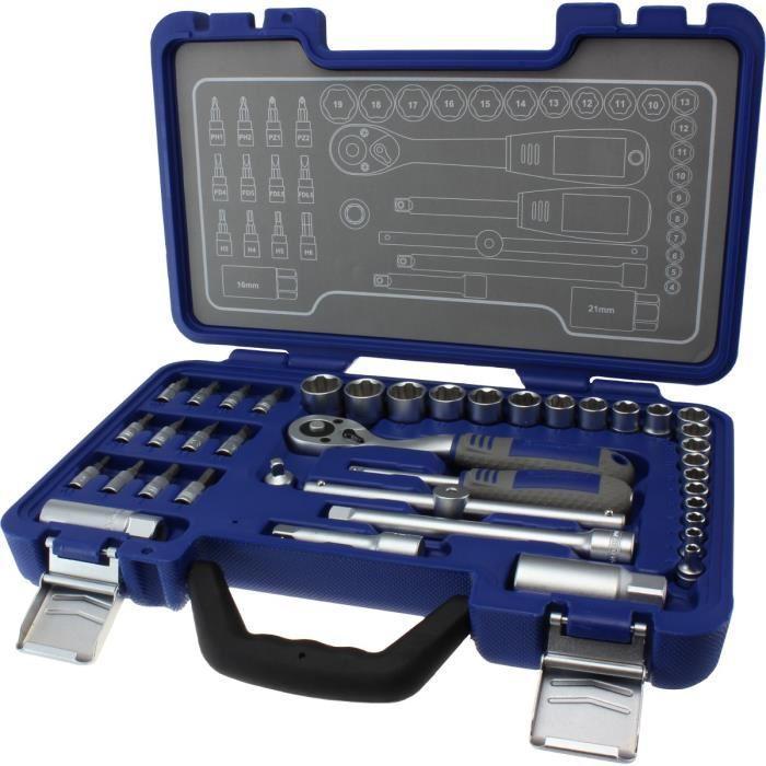 Coffret à outils Michelin MSS-40-1/4-3/8 - 40 pièces