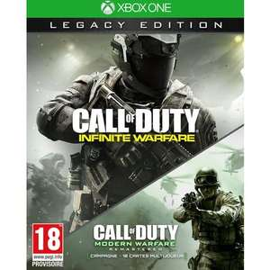 Call of Duty: Infinite Warfare Edition Legacy (avec Call of Duty Modern Warfare Remastered inclus) sur Xbox One et PS4
