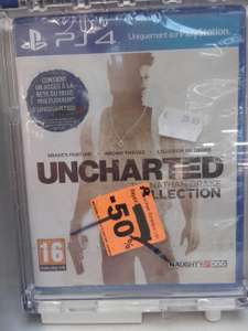 Uncharted Nathan Drake Collection sur PS4