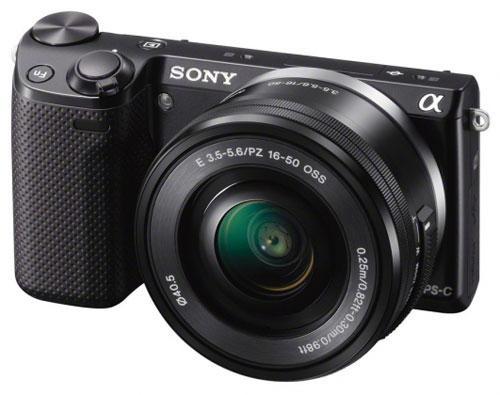 Hybride Sony NEX 5R + Obj. Stabilisé Sony E 16 - 50 mm f/3.5 - 5.6 – WiFi intégré (Avec ODR de 100€)
