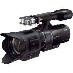 Camescope Full HD 16.1 MP à objectif interchangeable Sony NEX-VG30EHB  + Objectif 18-200m - Reconditionné
