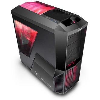 PC gamer GrosBill El Rojo Loco - Intel i5-6400 2.7Ghz, 8 Go RAM, 120 Go SSD  + 1To HDD, AMD RX 480 8Go, Sans OS
