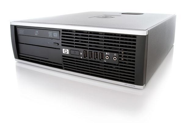 Ordinateur HP Compaq 8000 Elite (Pentium Dual-Core E5500@2,80GHz, 4Go RAM, 320Go, DVD RW) Reconditionné