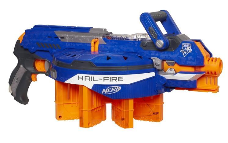 Pistolet Nerf Elite - Hail-Fire