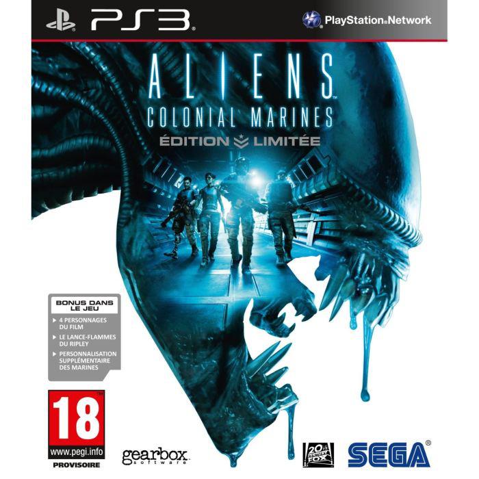 Aliens Colonial Marines Edition limitée sur PS3