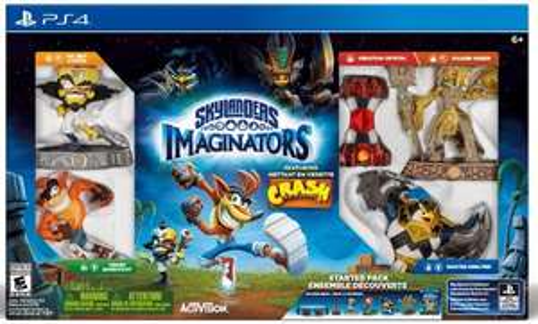 pack de démarrage Skylanders : Imaginators - Crash Bandicoot sur PS4
