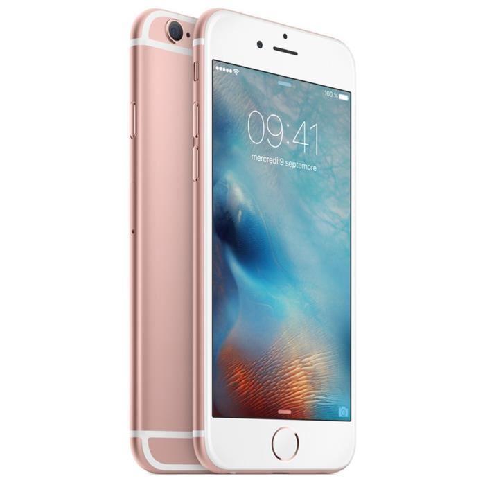 """[Cdiscount à Volonté] Smartphone 4.7"""" Apple iPhone 6s - 32 Go, rose (+ 129.8 € en bon d'achat)"""