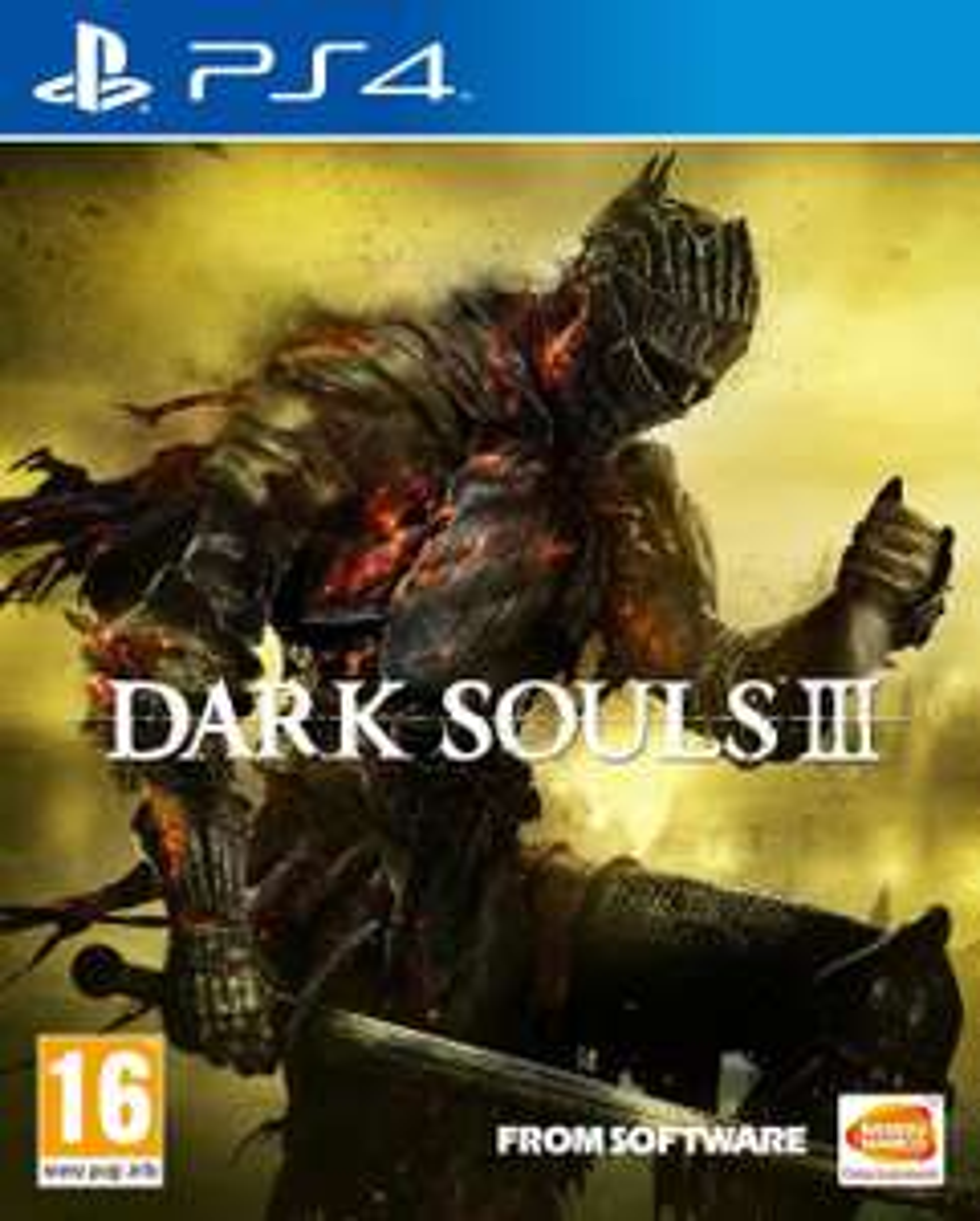 Dark Souls 3 sur Xbox One à 27.82€ et PS4