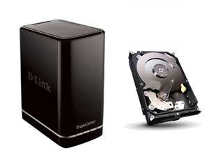 NAS D-Link DNS-320L + Disque dur Seagate Barracuda 2 To - Via Buyster
