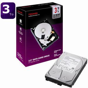 Disque dur Toshiba 3,5'' 3To - 32 Mo - version boite