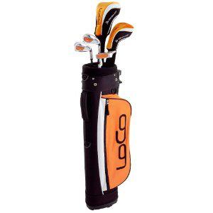 Set de golf enfant Dunlop Loco Orange (9.5€ de port)