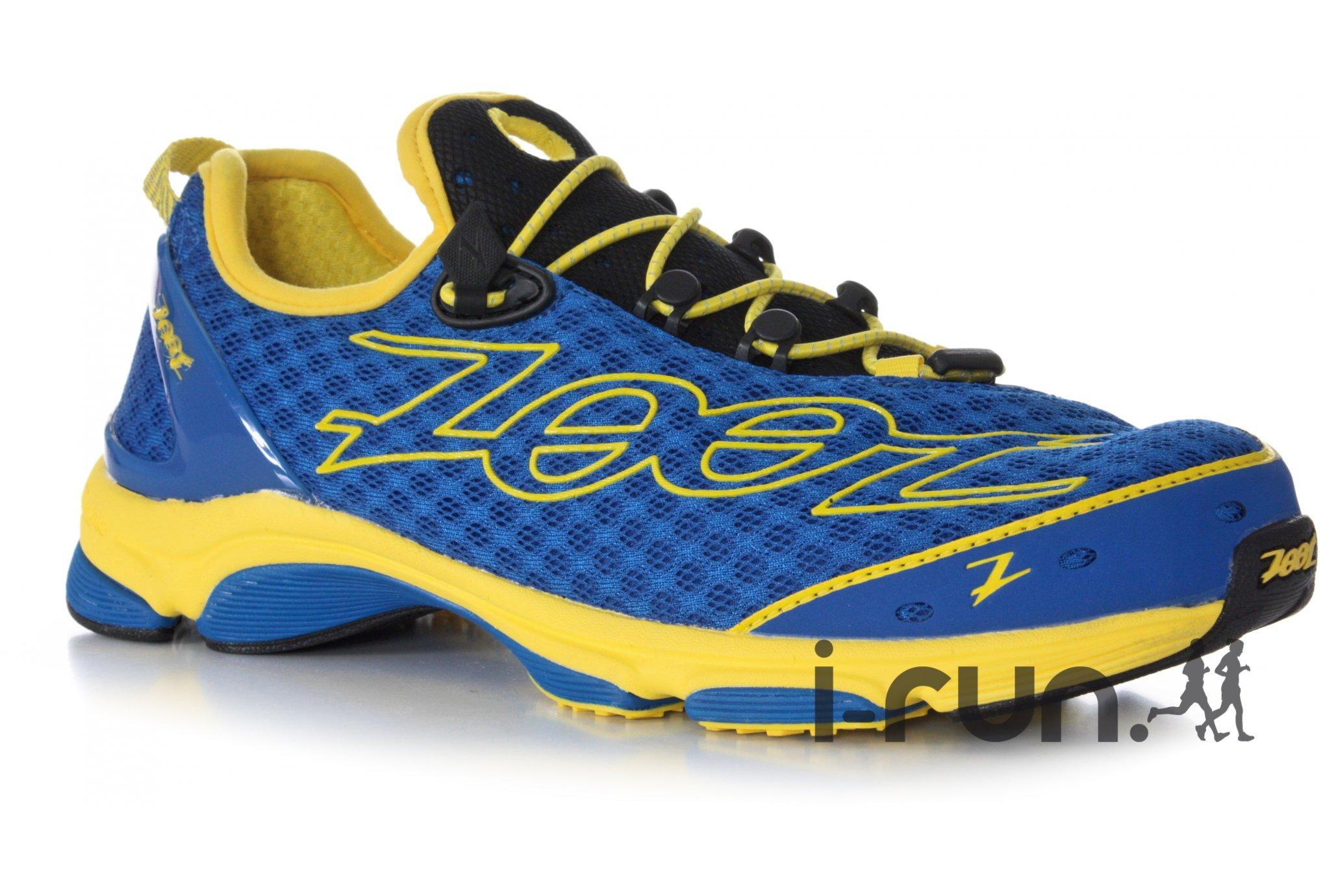 chaussure Zoot Ultra TT 7.0 pour Homme - Bleu/Jaune/Noir