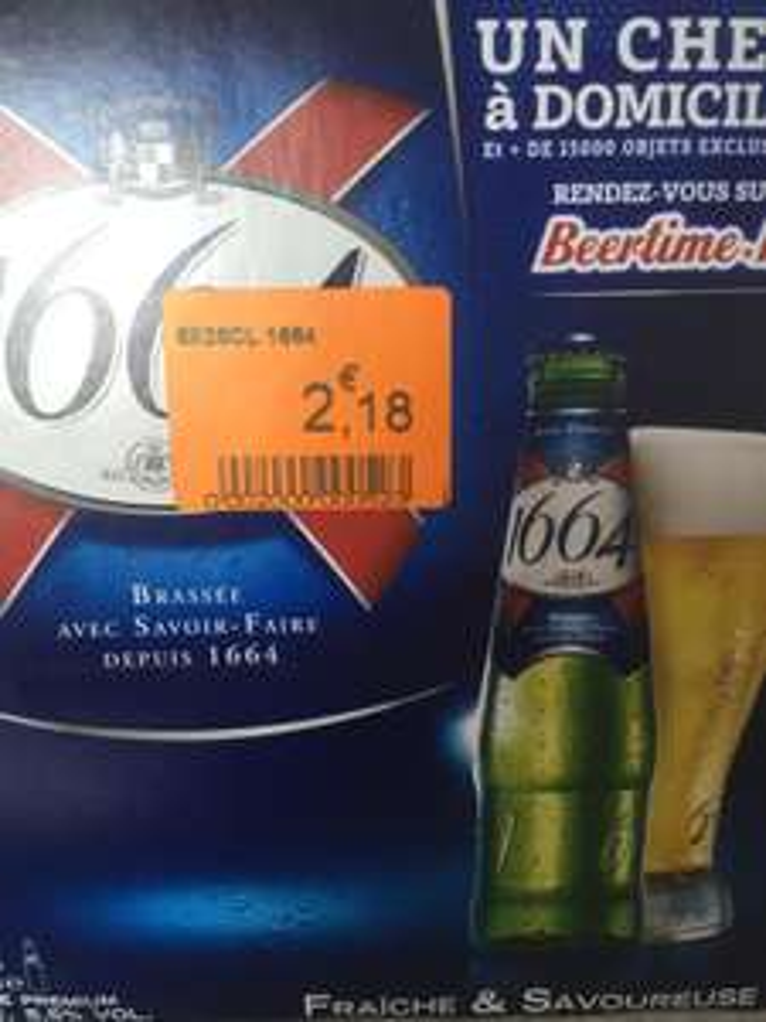 Pack de bières 1664 (6 x 25cl)